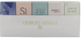 Giorgio Armani Ladies 5 x Mini Fragrance Gift Set