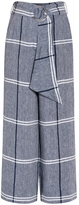 Suno Chambray Wide Leg Pants