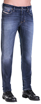 Diesel Larkee-beex 0860l Stretch Tapered Jeans, Mid Blue