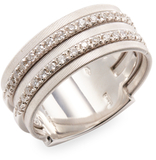 Marco Bicego Goa 18K White Gold 0.26 TCW Diamond Ring