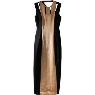 Barbara Casasola Black Silk Dress for Women
