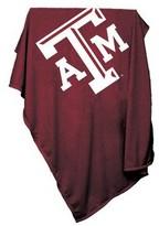 NCAA Texas A&M Aggies Sweatshirt Blanket