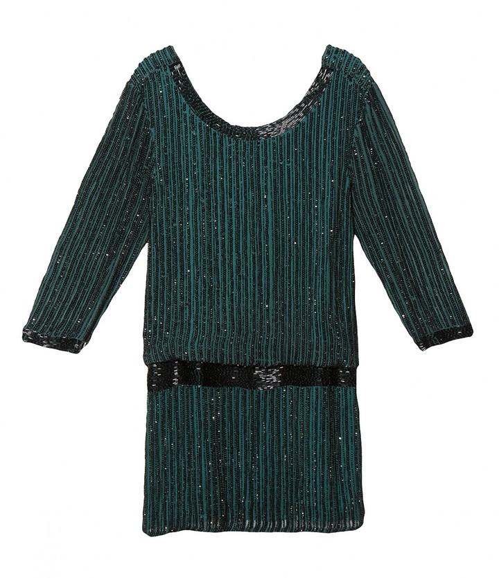 Parker Sequin Stripe Dress