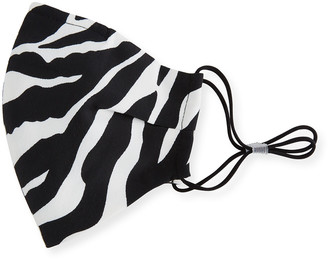 Bronx and Banco Zebra Print Reusable Cloth Mask Face Covering