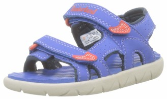 Timberland Unisex Kids' Perkins Row 2-Strap (Youth) Open Toe Sandals