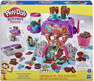 Play-Doh Kitchen Creations Candy Delight Playset with 5 Non-Toxic Cans
