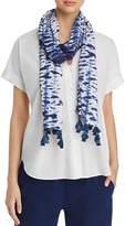 Eileen Fisher Tie-Dye Printed Scarf
