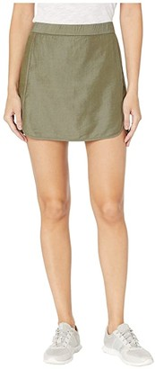 Carve Designs Jordan Skirt (Olive) Women's Skirt
