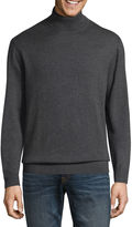 Claiborne Turtleneck Long Sleeve Pullover Sweater