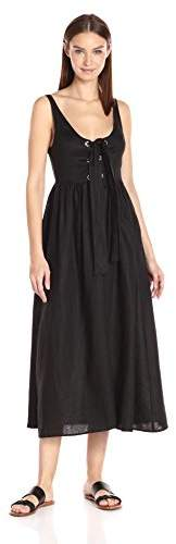 Mara Hoffman Women's Front Lace up Dress