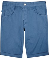 Armani Jeans Blue Cotton Shorts
