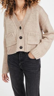 ENGLISH FACTORY V Neck Sweater Cardigan