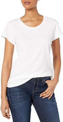 Velvet by Graham & Spencer Women's Slub Crewneck Tee