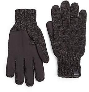 Bickley + Mitchell Men's Melange Knit Gloves