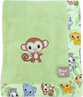 Trend Lab TREND LAB, LLC Chibi Zoo Receiving Blanket