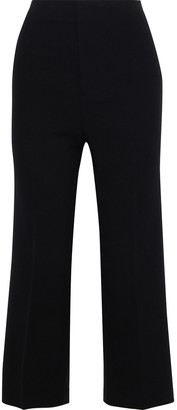 Alice + Olivia Lorinda Cropped Cady Straight-leg Pants