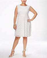 Love Squared Trendy Plus Size Fit & Flare Dress