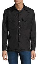 Rag & Bone Solid Cotton Heath Shirt Jacket