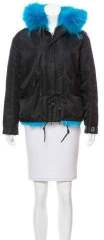 Damiani Fur-Lined Short Coat