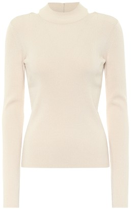 Helmut Lang Ribbed-knit sweater