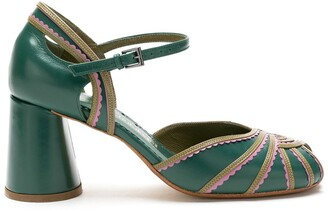 Sarah Chofakian leather Sugar sandals