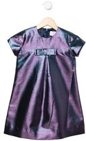 Baby CZ Girls' Metallic Bow Dress w/ Tags