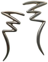Tiffany & Co. .925 Sterling Silver Paloma Picasso Zig Zag Scribble Earrings