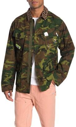 Ovadia And Sons Camo Print Jacket