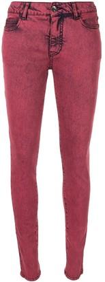 Chanel Pre Owned 2014 CC Logos Casual Denim Long Pants