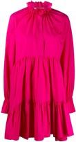 Philosophy di Lorenzo Serafini tiered cotton mini dress