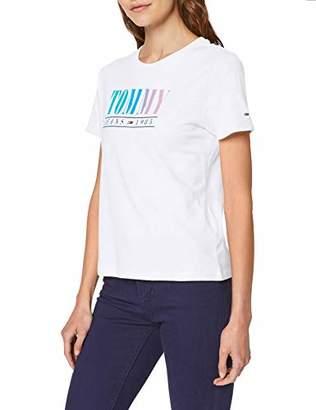 Tommy Jeans Women's Tjw Summer Multicolor Tommy Tee T-Shirt