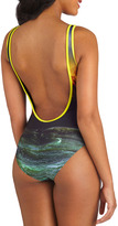 Off to the Ocean One-Piece Swimsuit in Sunset