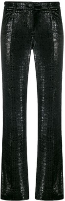 Chanel Pre Owned 2004 Textured Trousers