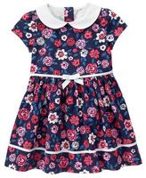 Gymboree Floral Poplin Dress