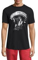 True Religion Curved Hem Graphic Tee
