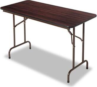 "Alera® Rectangular Folding Puzzle Table Size: 29"" H x 48"" L x 25"" W"