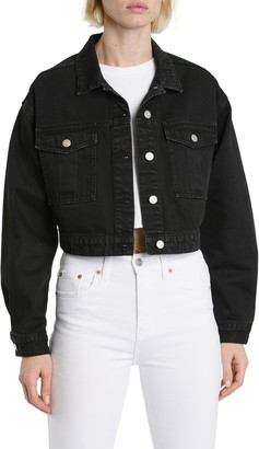 DAZE Legend Crop Denim Jacket
