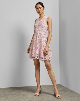 Ted Baker Lace Skater Dress