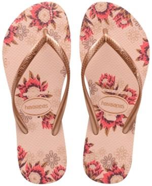 Havaianas Women's Slim Organic Flip-Flop Sandals Women's Shoes