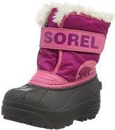 Sorel Childrens Commander-K Snow Boot, Red, 12 M US Little Kid