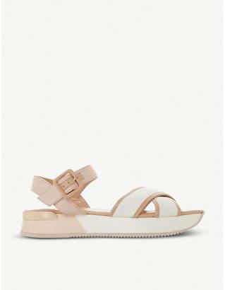 Dune Lozz platform sandal