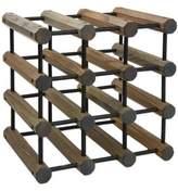 J.K. Adams 12-Bottle Driftwood Wine Rack