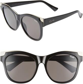 Quay It's My Way 56mm Cat Eye Sunglasses