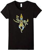 Women's Kali T-shirt Hinduism Hindu Gods Tee Shirts Large