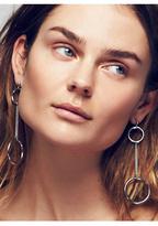 REGAL ROSE Womens SOLENE HOOP PENDULUM EARR