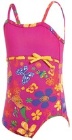 Zoggs Toddler Girls Mermaid Flower Classic One Piece
