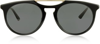 Gucci GG0320S Round-frame Acetate Sunglasses