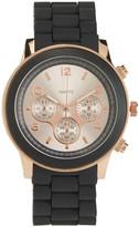 Aeropostale Black Rose Metallic Watch