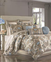 J Queen New York Jordyn Olivia Queen Comforter Set Bedding