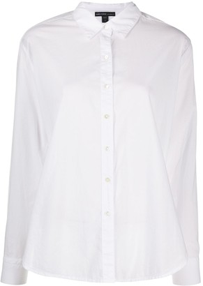 James Perse Flared Button-Down Shirt